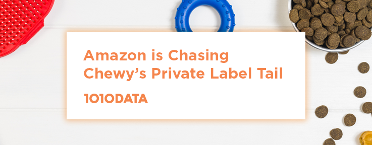 Amazon is Chasing Chewy's Private Label Tail | 1010data